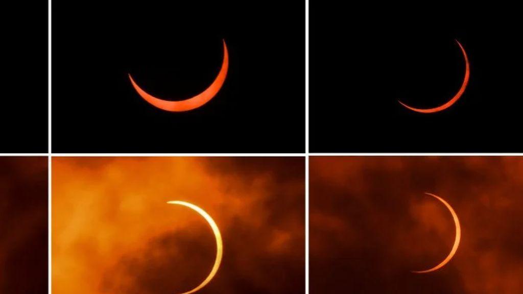 El eclipse de 'El señor de los anillos' asombra al mundo