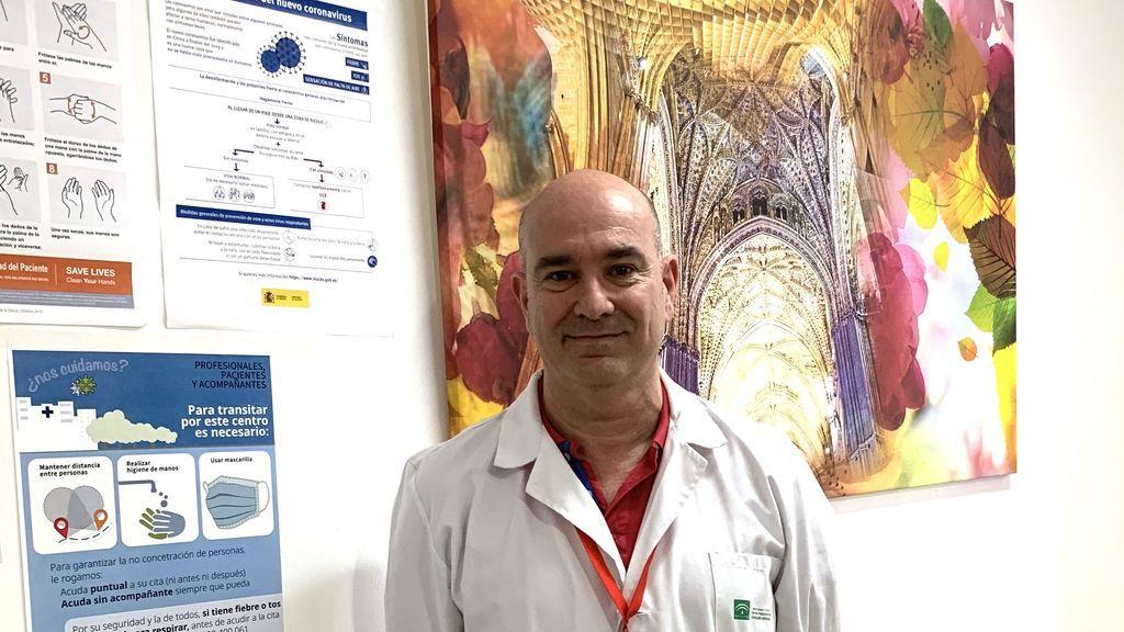 """Juan Carlos Palomo, rastreador de coronavirus: """"Celebraron un parto, resultó que la parturienta era positivo y hubo que aislar a ocho personas"""""""