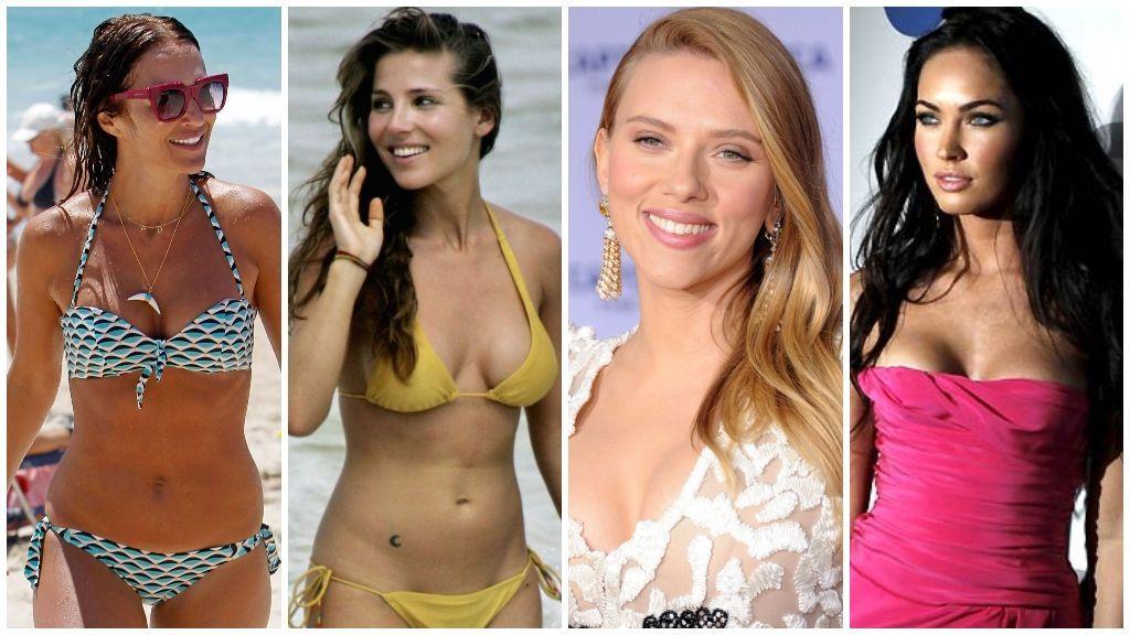 Paula Echevarría, Elsa Pataky, Scarlett Johansson y Megan Fox también han pasado por quirófano.