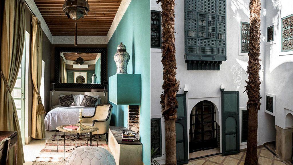 Rosa Gamazo en Marrakech
