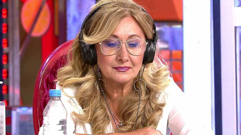 Maite escucha los polémicos audios de Raquel