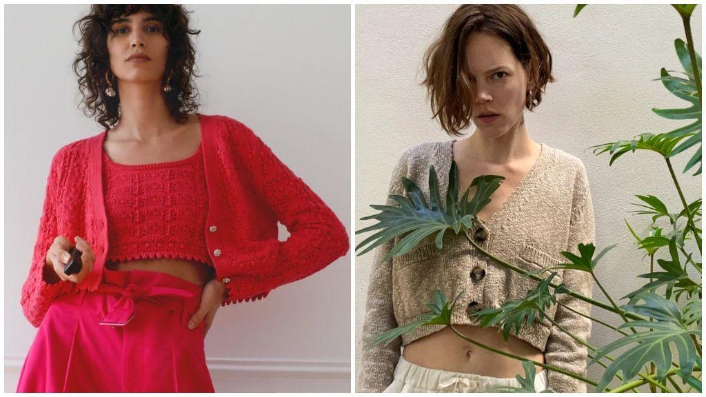 Si quieres incluir una nota de color a tu 'outfit', siempre podrás decantarte por estos dos piezas en rojo y crudo.
