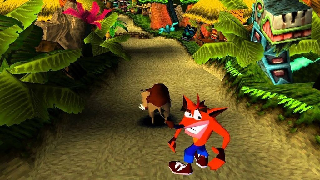 Crash Bandicoot PS1
