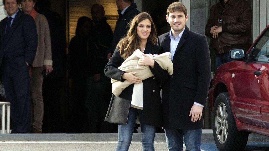 El pequeño Martín nació a principios de enero del 2014.