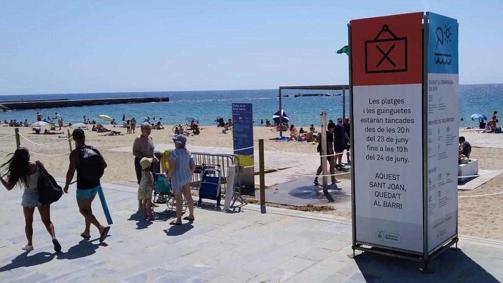 La verbena de las restricciones: playas cerradas y peligro ante la mezcla de pirotecnia y gel hidroalcohólico por San Juan