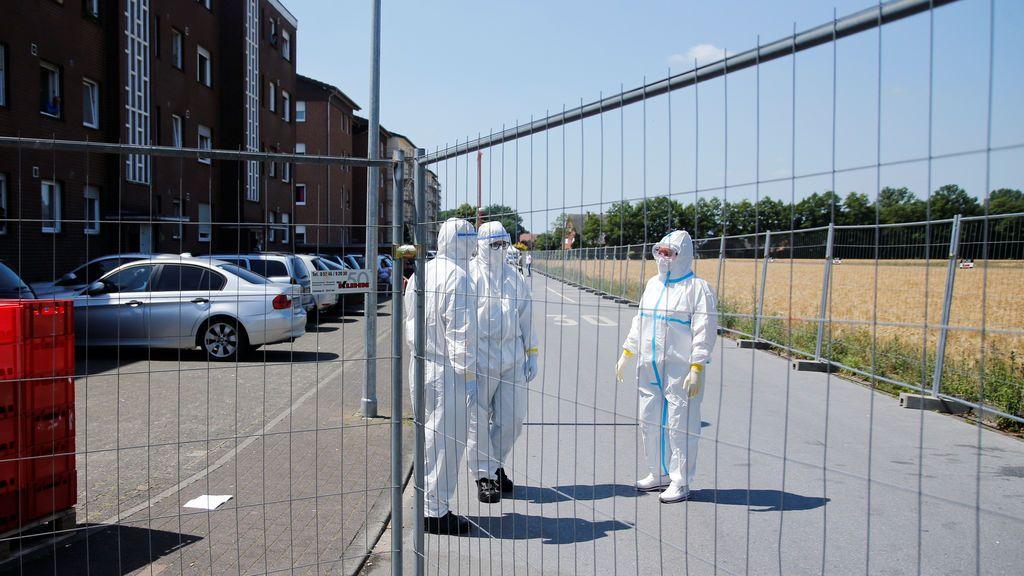 Alemania brote matadero confinamiento 640.000 personas