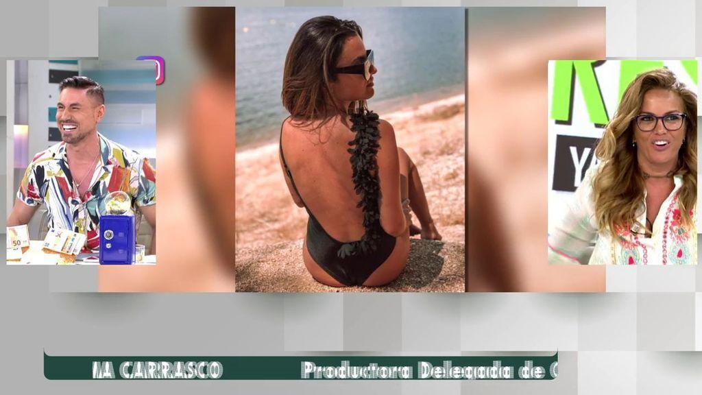 Marta López ve las imágenes de Alexia Rivas