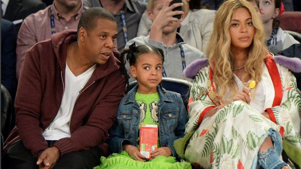 8 años, cantante compositora: así es Blue Ivy, la primogénita de Beyonce y Jay Z.