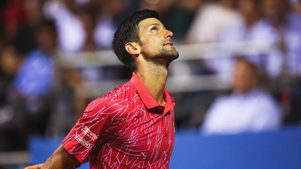 Novak Djokovic, en un partido.