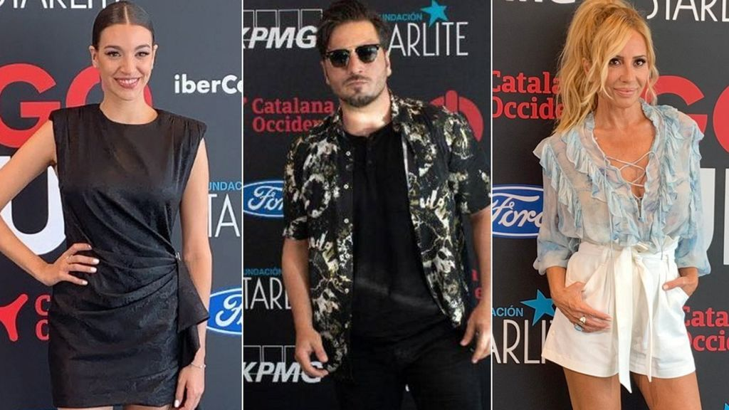 Primera alfombra roja postconfinamiento: Marta Sánchez, Chenoa o Bustamante vuelven a los photocalls