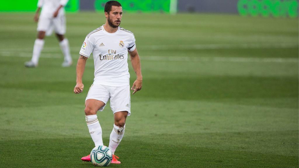 Precaución en el Real Madrid con Hazard: Zidane no quiere cometer ningún riesgo y podría dejarle fuera ante el Mallorca