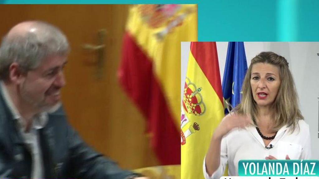 """Yolanda Díaz: """"Tenemos una propuesta que no podemos desvelar"""""""