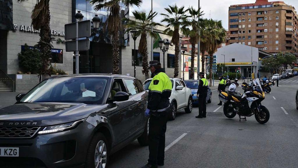 Valencia, Alicante y Cádiz, las provincias después de Madrid con más propuestas de sanción y detenciones