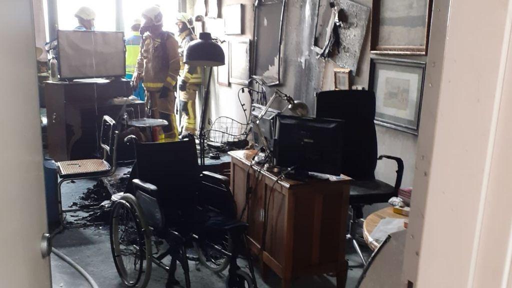 Muere un hombre de 77 años tras el incendio de su casa en Leganés