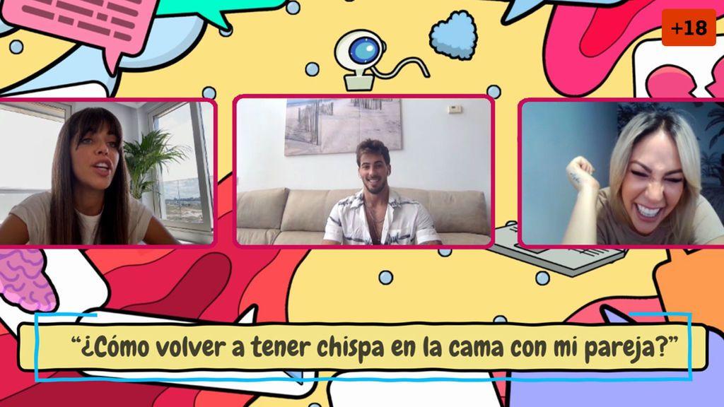 """""""Mi cuñado tontea conmigo"""": Iván, Cristian y Violeta explican qué hacer y cómo avivar la llama con tu pareja (2/2)"""