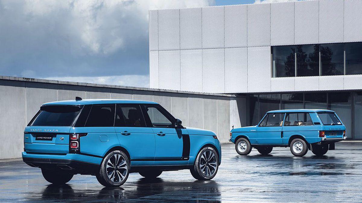 Celebración por todo lo alto: los 50 años de Range Rover, el primer todoterreno de lujo