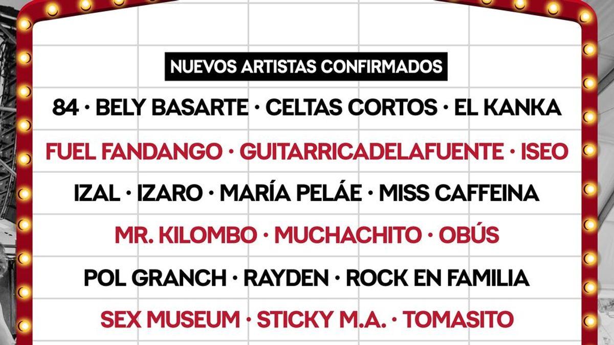 Celtas Cortos y Obús estarán en el Crew Nation Presenta de Madrid