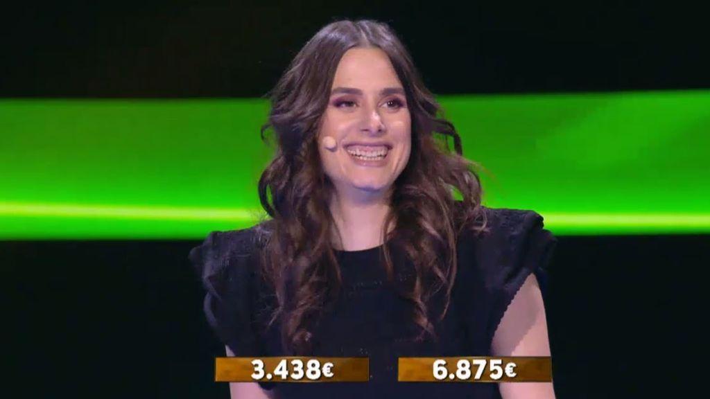 La intuición y estrategia certera de Silvia al repartir le hace ganar 6.875 euros en la ronda final