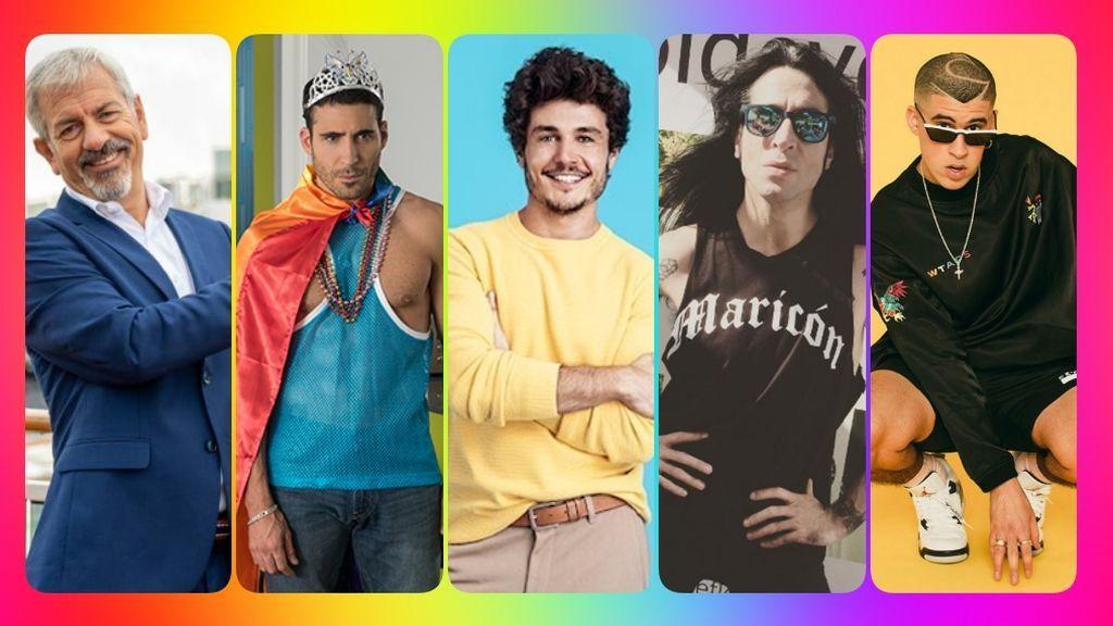 Celebrity Pride: Famosos, heterosexuales y portavoces de la causa LGTBI