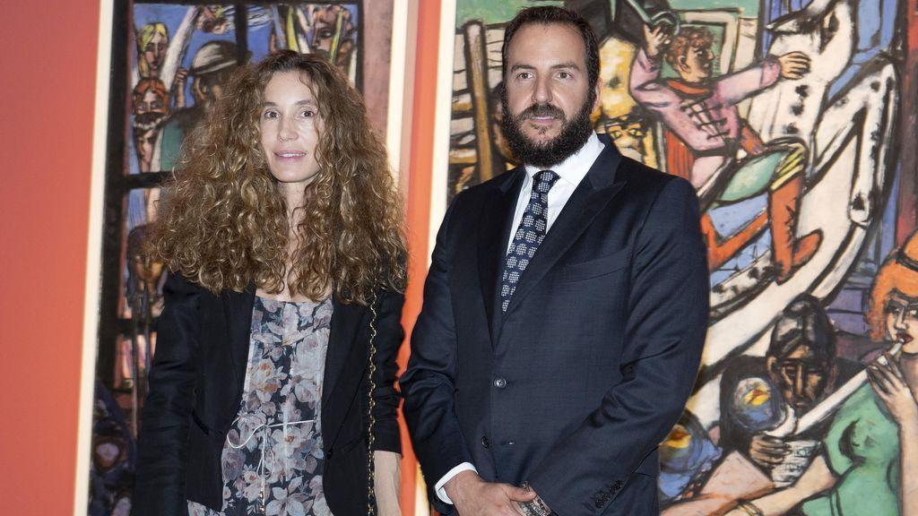 Borja junto a Blanca Cuestea