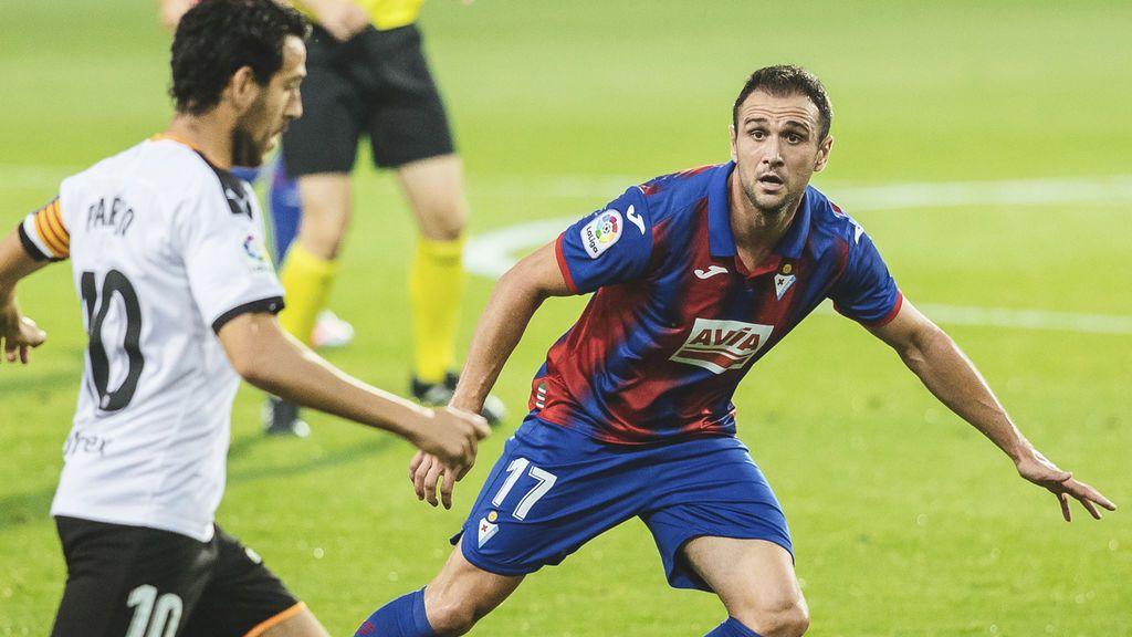(1-0) El Eibar coge aire venciendo al Valencia en Ipurúa