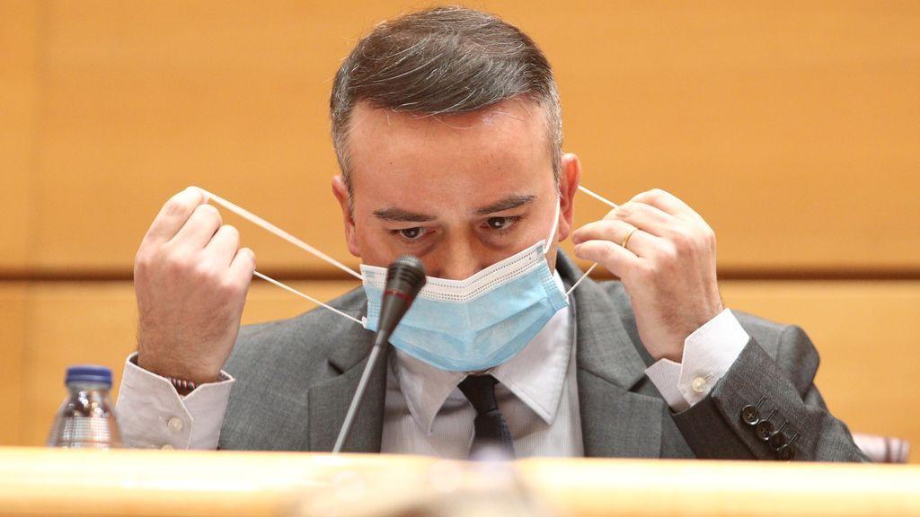 Iván Redondo en su comparecencia ante la Comisión Mixta de Seguridad Nacional