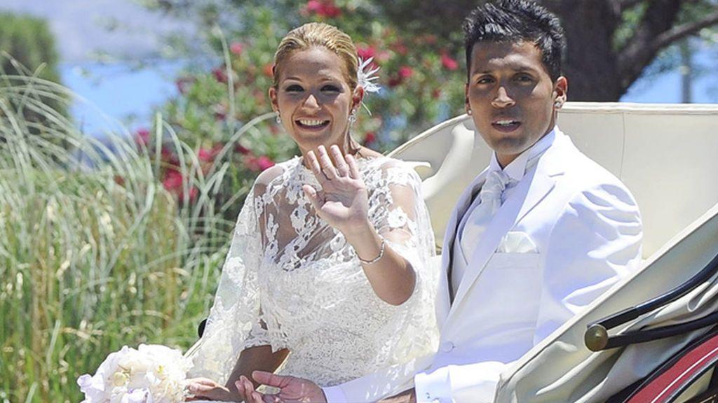 """Tamara Gorro se ríe de su boda junto a Ezequiel Garay: """"Éramos horrorosos"""""""