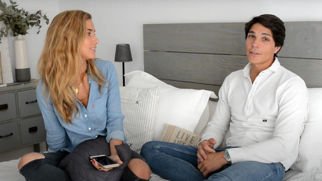 María Pombo y Pablo Castellano debaten sobre los posibles nombres de su bebé