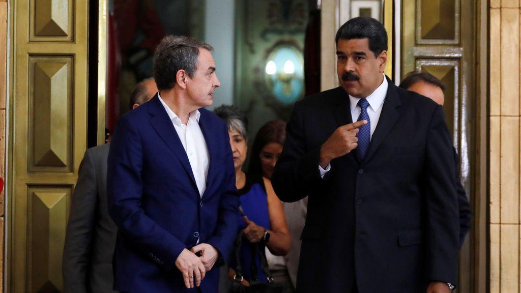 """Guaidó: """"Zapatero no es un intermediario, ni un mediador, ni un hombre neutral"""""""