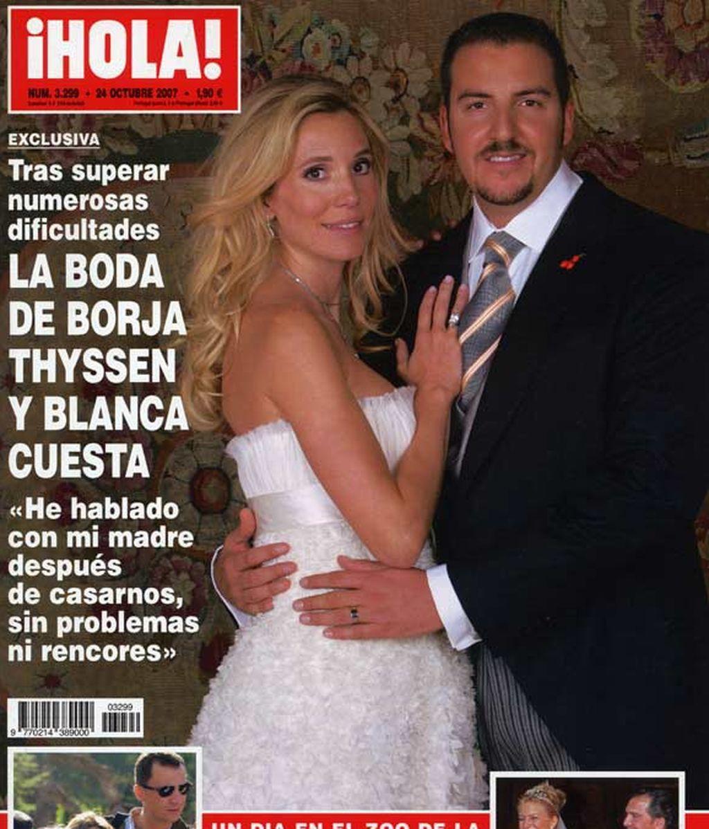 La boda de Blanca y Borja