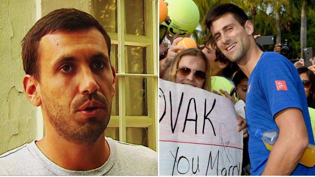 """El amigo español de Djokovic que estaba en el polémico Adria Tour: """"La culpa fue de Dimitrov, tenía fiebre y no avisó"""""""