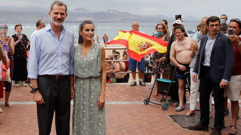 La foto viral de los Reyes en Canarias