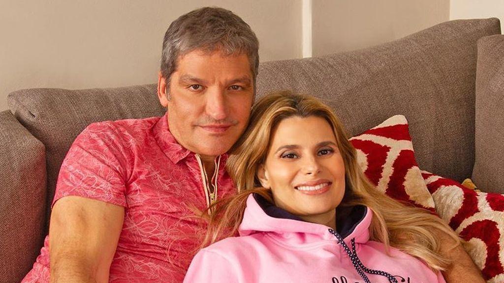 Las fotos de María Lapiedra y Gustavo González con su hija de dos meses