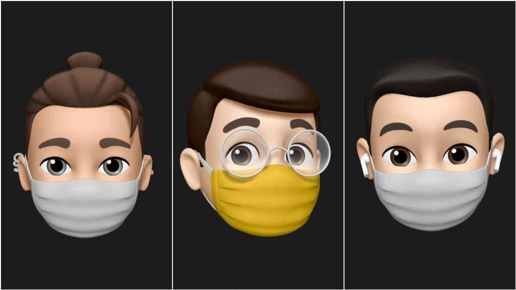Con iOS 14 podrás ponerle una mascarilla a tu Memoji