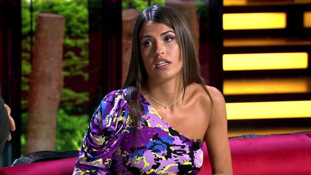 Sofía responde sobre los audios de la madre de Kiko Jiménez poniéndola verde