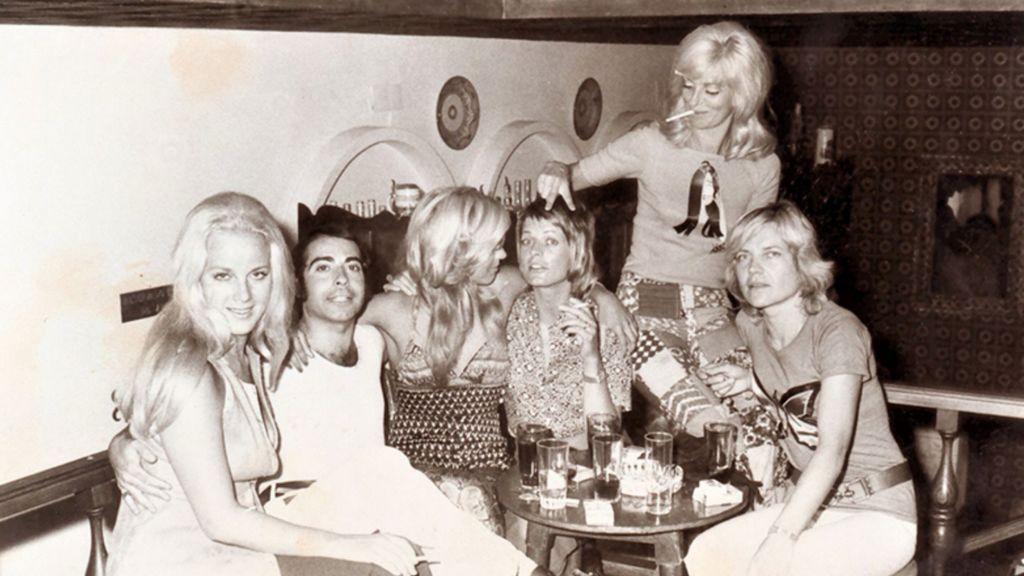 Bar Pourquoi Pas, 1971. Cedida por Ramón Cadenas