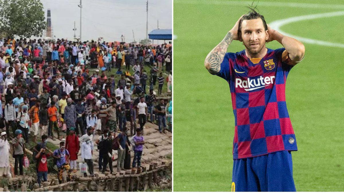 Varias personas acaban arrestadas en Bangladesh tras saltarse el aislamiento social para celebrar el cumpleaños de Messi