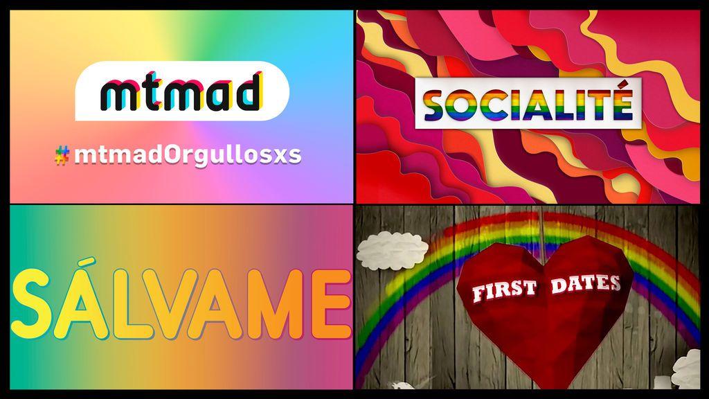 Mediaset España se une a la celebración anual del Orgullo LGTBI con contenidos especiales en todos sus soportes