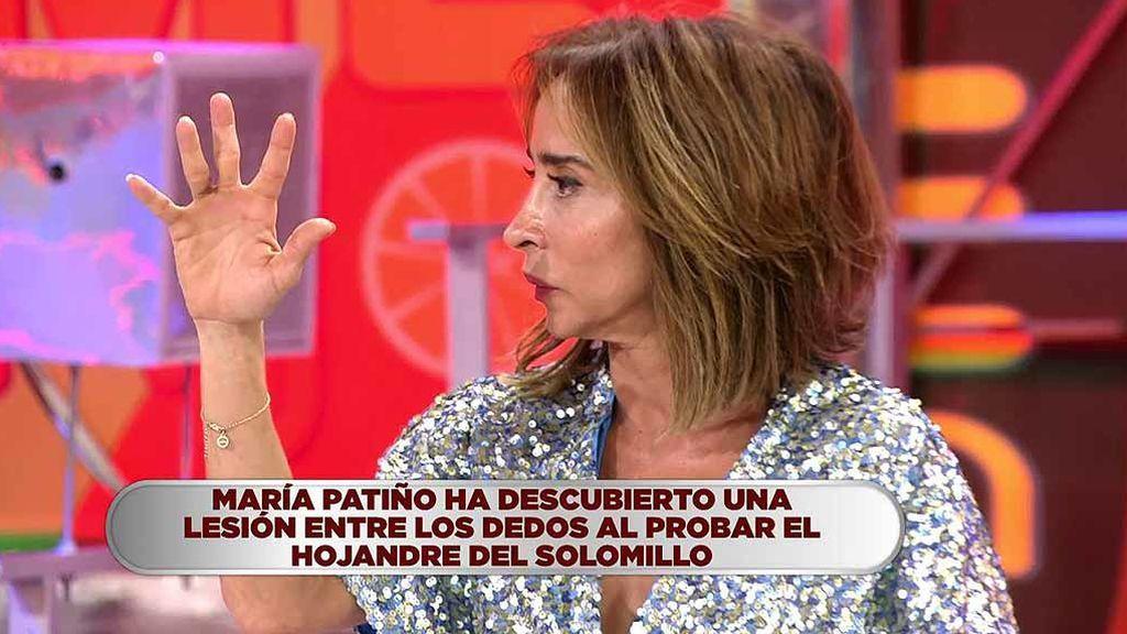 La repentina lesión de María Patiño: llamamos en directo al doctor Sánchez Martos