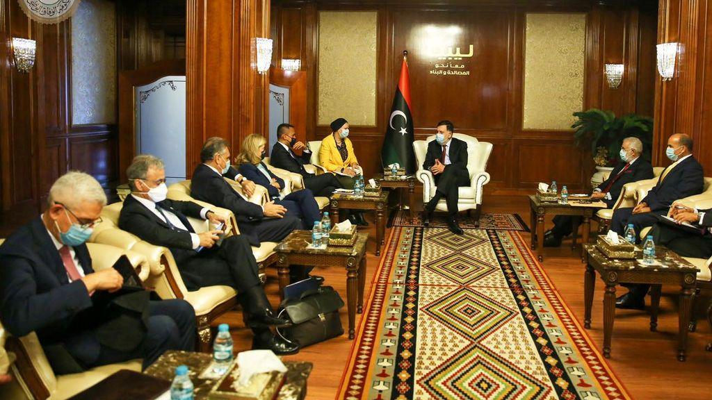 Francia, Alemania e Italia reclaman el cese de las injerencias extranjeras en Libia