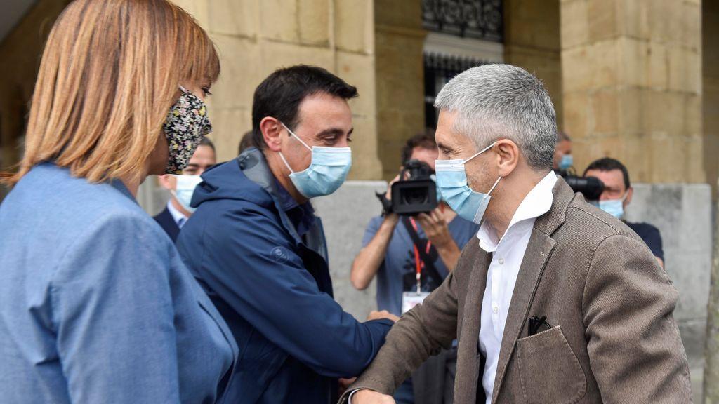 """Elecciones Euskadi 2020. Grande-Marlaska: """"Que no nos traigan el pasado de ETA"""""""