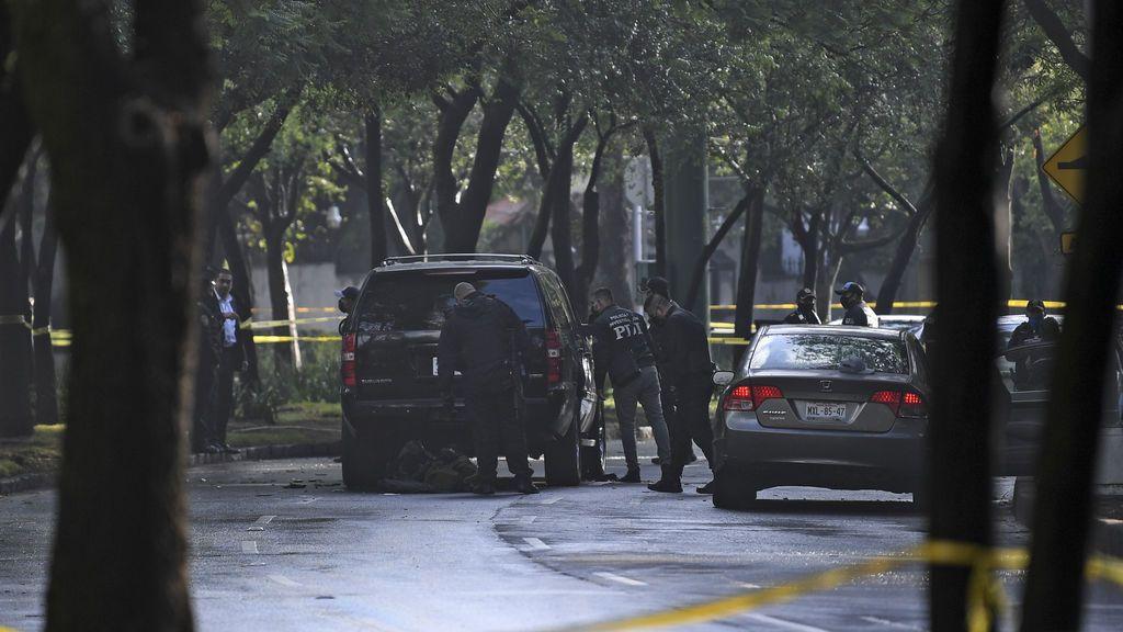 Un ataque fallido contra el jefe de seguridad de la Ciudad de México deja tres muertos