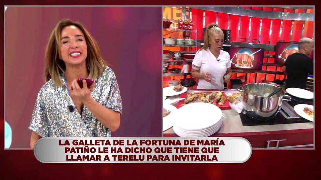 """María Patiño llama a las doce de la noche a Terelu y le da un susto: """"La madre que os parió, qué susto"""""""