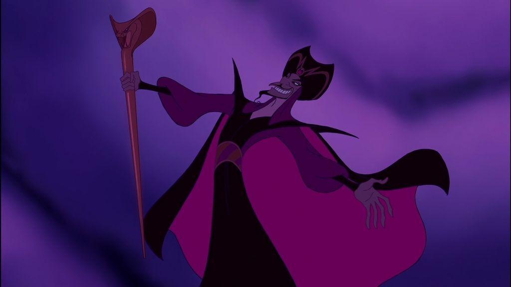 Jafar, el villano de la película de 'Aladdín'