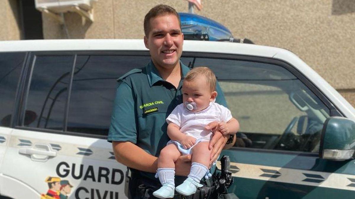 """Había que salvar al niño, podía haber muerto"": un guardia civil salva a un bebé que sufrió una parada cardiorespiratoria en Leganés"
