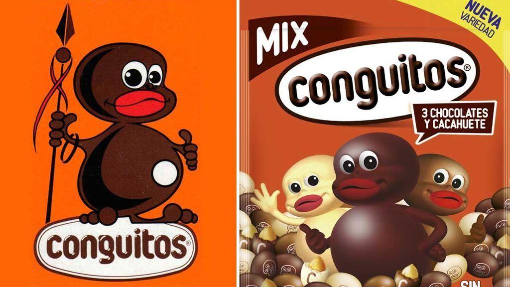 Evolución de la marca Conguitos