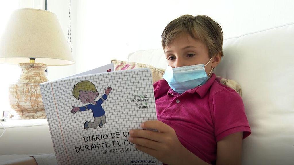 """El diario de un niño de 8 años durante la COVID-19: """"El coronavirus también ha traído cosas buenas"""""""