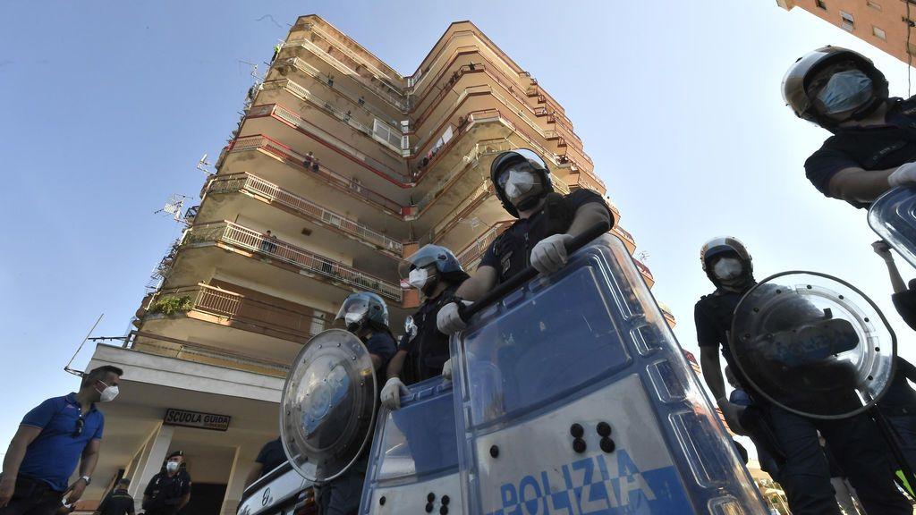 Ejército altercado Italia brote migrantes búlgaros