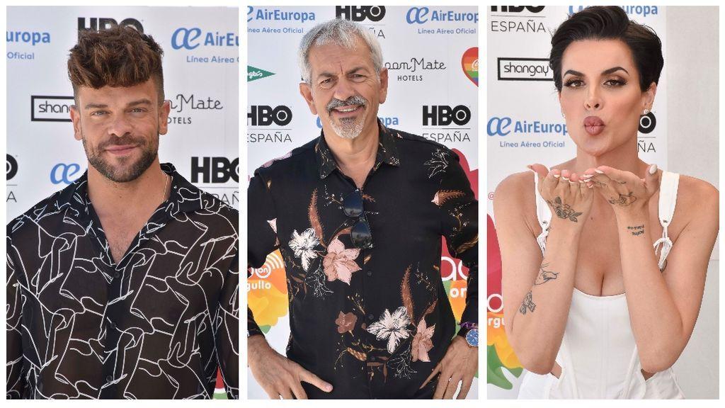 Ricky Merino, Carlos Sobera o Jedet: los famosos inauguran el Orgullo con su posado en el photocall