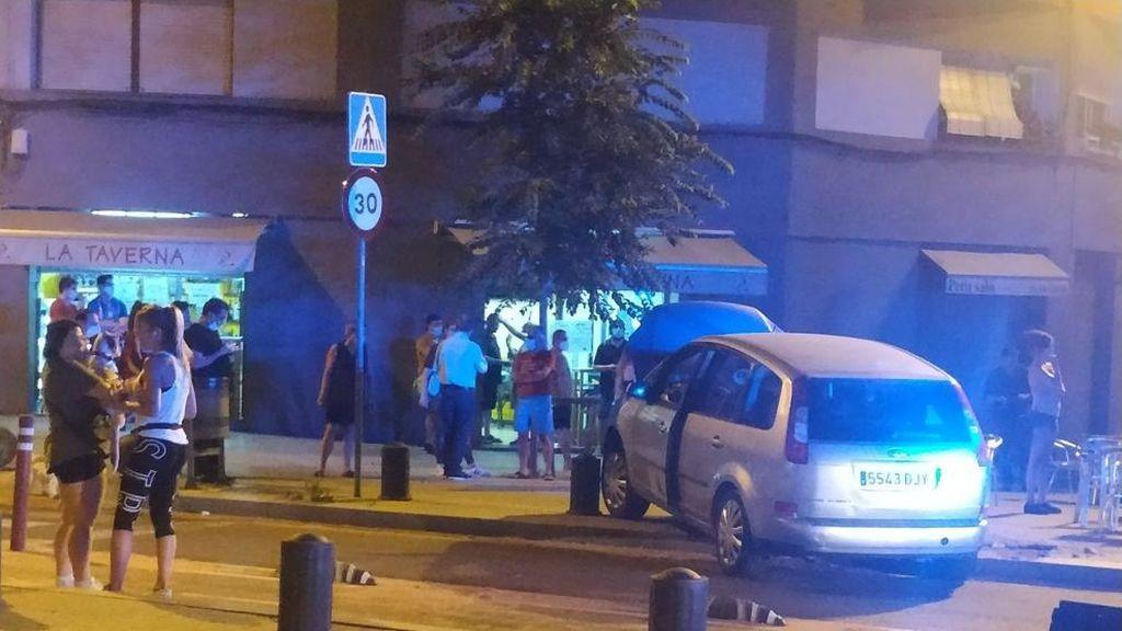 Intento de atropello masivo en la terraza de un bar de Barcelona: detenido el presunto autor